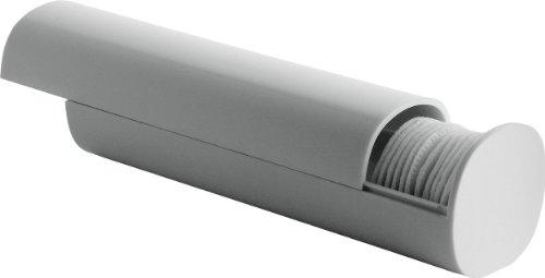 Alessi PL06 W Birillo Distributore di Dischetti e Batuffoli di Cotone PMMA Bianco