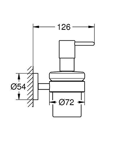 Grohe Essentials Seifenspender mit Halter - 3