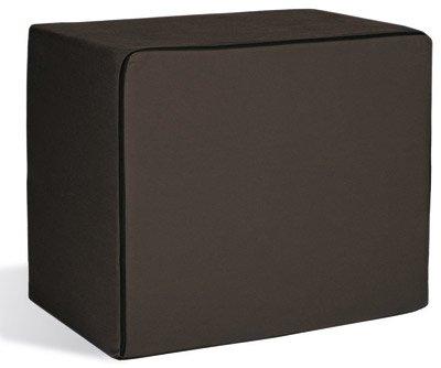 Bandscheibenwürfel, Schaumstoff, schwarz, 40 x 50 x 60 cm