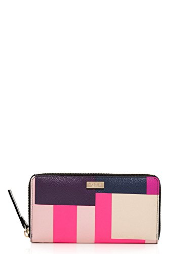 Kate Spade Grant Street Neda Continental Zip Wallet, Colorblock Party