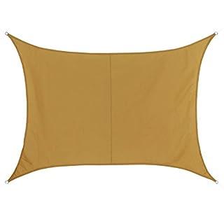 BB Sport Sonnensegel rechteckig 4m x 5m wetterbeständig wasserabweisend Sonnenschutz 100% PES Sichtschutz Windschutz Tarp, Terracotta