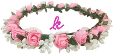 Classic Floral Tiara/Crown/Headband for Girls & Women-Hair Accessory for Party & Weeding