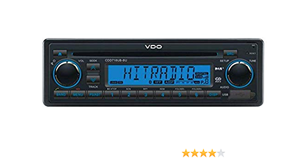 Vdo 12 Volt Bluetooth Dab Radio Car Rds And Dab Tuner Elektronik