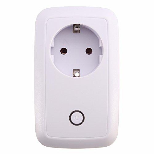 MECO Inalámbrico Inteligente Enchufe Interruptor Wi-Fi Función Inalámbrico App Control USB Remoto...