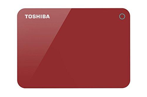Toshiba HDTC920AR3AA Canvio Advacne 2TB USB3.0 External Hard Drive (Red)