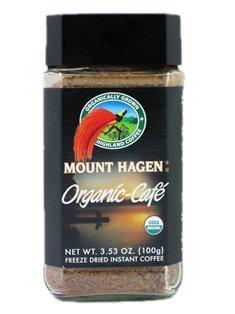 Mount Hagen: Organic Café Freeze Dried Instant Coffee (1 X 3.53 Oz) by Mount Hagen