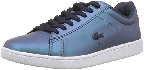 Lacoste Sport Damen Carnaby Evo 318 5 SPW Sneaker, Blau (NVY/Wht 092), 37 EU