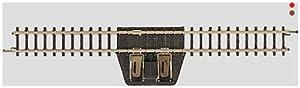 Märklin Straight Feeder Track - partes y accesorios de juguetes ferroviarios (Rastrear, Märklin, Negro, Amarillo)