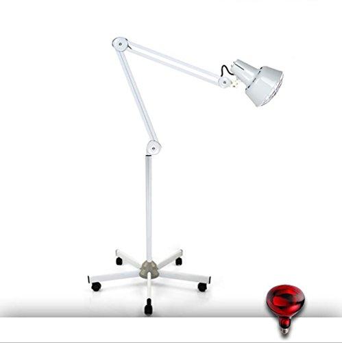 ZY Fern Infrarot Wärme Lampe IR Heizung Boden Licht Schmerzlinderung Effektive Physiotherapie Dimmbare Massage Arthritis (Licht Schmerzlinderung)