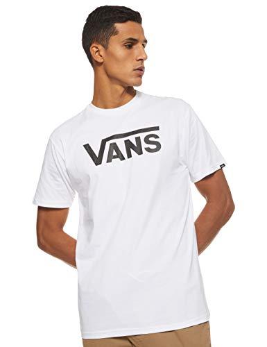 Vans Herren Classic T-Shirt, Weiß (WHITE-BLACK YB2), Medium