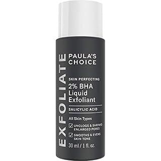 Paula's Choice Skin Perfecting 2% BHA Liquid Peeling - Gesicht Exfoliator mit Salicylsäure - Gegen Mitesser, Akne & Poren Verkleinern - Mischhaut & Fettige Haut - Deluxe Probe - 30 ml