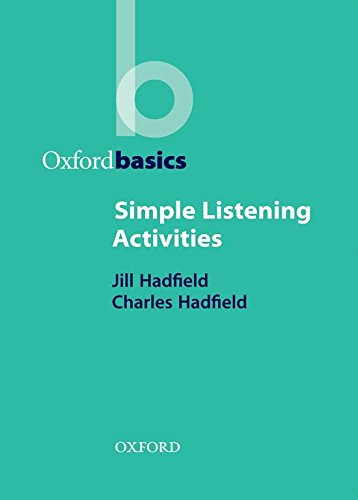 Oxford Basics. Simple Listening Activities