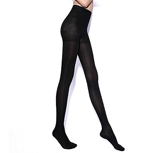 31DKHWkFGML. SS500  - Sexy Slim 680D Stockings Tights Compression Pantyhose Women Leg Shaper Stockings - Black