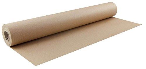 Packpapierrolle 50 cm x 25 m, braun Packpapier, Mischpack Qualität mit ca. 70 g/qm. Zum Verpacken aber auch als Geschenkpapier verwendbar. Verlässlicher Schutz von Kratzempfindlichem. Rolle in Folie verpackt. Farbe: braun.