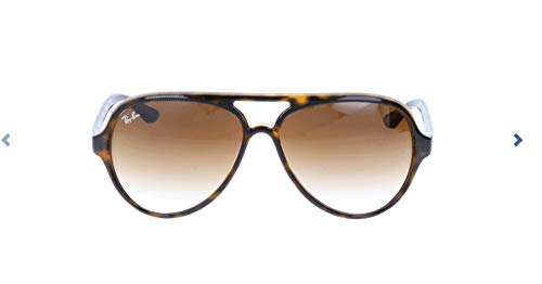 Ray-Ban Cats 5000 Aviator Sonnenbrille, Brown (710/51 Light Havana)