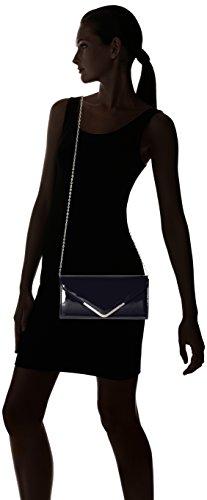 Tamaris Damen Brianna Clutch Bag, 5x13x26 cm Blau (Navy)