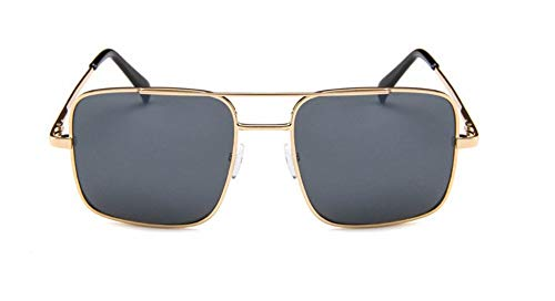 WSKPE Sonnenbrille Sonnenbrille Herren Oversize Fahren Coole Sonnenbrille Männlichen Übergroße Schattierungen Weiblichen Eyewear Schwarz Objektiv