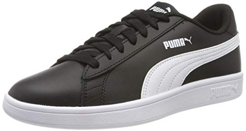 PUMA Smash v2 L, Zapatillas Unisex Adulto, Black White