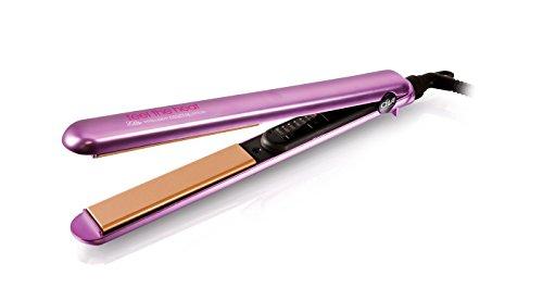 Diva Professional Feel The Heat Elite, plaque pour tous les types et les styles de cheveux, Violet (Amethyst Diva)