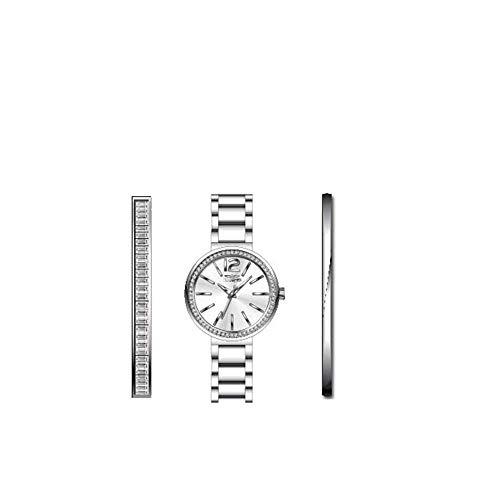 Invicta Angel Reloj de Mujer Cuarzo Correa y Caja de Acero dial Plata 29268