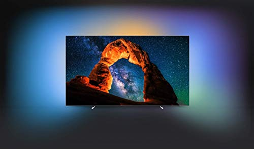 Philips 65OLED803/12 164cm (65 Zoll) OLED-Fernseher (Ambilight, 4K Ultra HD, Triple Tuner, Smart TV)