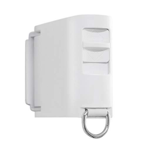 fasloyu Einziehbare unsichtbare Wäscheleine, Innenwandbehang Stretch Wäscheleine, für nasse Badeanzüge, Handtücher, Bademäntel, Kleider, Unterwäsche (Weiß)