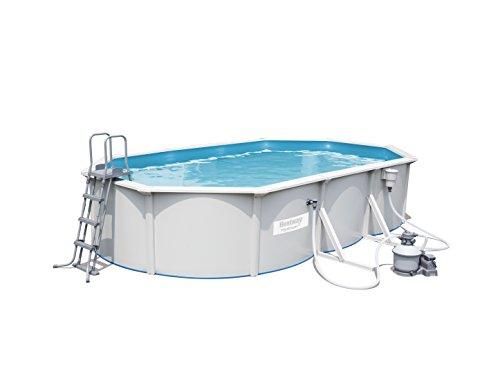 Best Way 1571260031 - piscina oval hydrium 610x36 cm