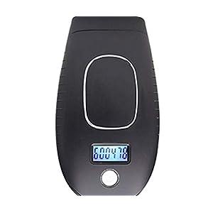 FANPING Haarentfernung Permanent Painless Laser-Haarentfernung Epilierer 600000 Flas Home Beauty IPL Epilierer Laser-Haarentfernung Gerät (Color : Black)