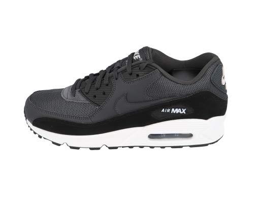 Nike Herren Air Max 90 Essential Leichtathletikschuhe, Schwarz (Anthracite/White/Black 000), 45.5 EU