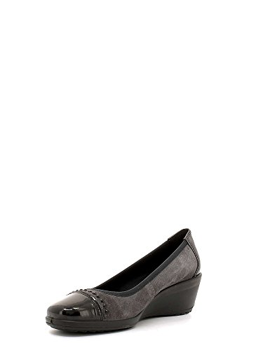 Enval 6951 Ballerines Femmes Dark Grey