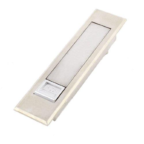 Silver Tone Druckknopf Pop up Typ elektronischer Schlüsselkasten Flugzeug Lock 11.43 cm