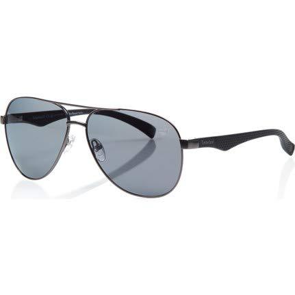 Timberland Unisex-Erwachsene Brillengestelle TB9137 09D 60, Grau (Antracite Op\\Fumo Polar)