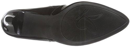 Caprice 22408, Scarpe con Tacco Donna Nero (BLACK PAT COMB 050)