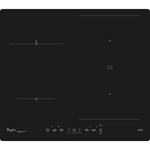 Whirlpool ACM 826/NE/IXL Noir Intégré Plaque avec zone à induction - Plaques (Noir, Intégré, Plaque avec zone à induction, Verre, Verre, Tactil)