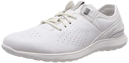 Josef Seibel Malena 01, Zapatos de Cordones Derby para Mujer, Weiss 000, 41 EU