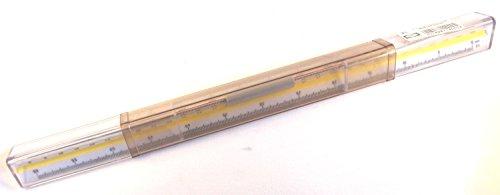 Preisvergleich Produktbild Logarex Cleo Reduktionsmaßstab C Geodäsie 1:720, 1:1000, 1:2000, 1:1440, 1:2880, 1:5000