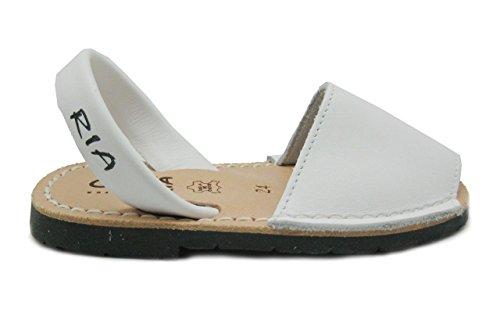 Ria Zapatos Mujer Menorquinas Avarcas 2002 Blanco 35 27c35373e87
