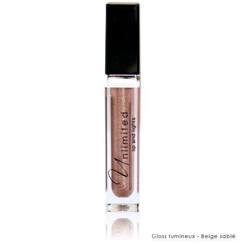 UNLIMITED Gloss Lumineux Lips & light Brillant à lèvres Actifs hydratants - Beige Sablé