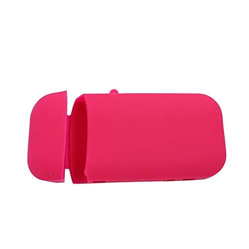 Sigaretta Elettronica Tasca Gel di Silice Morbido E-Cig Scatola Borsa Marsupio Conchiglia Antigraffio per iqos, Colore Rosa