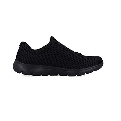 Skechers summits, scarpe da ginnastica donna, nero black bbk, 40 eu