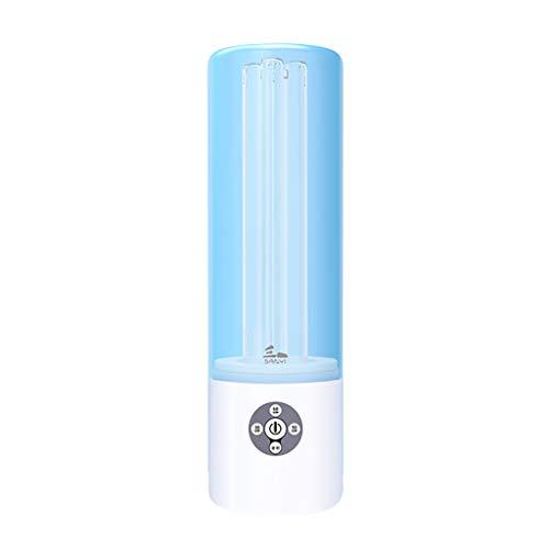 JF Lichter Desinfektions Keimtötendes Licht, UV-Ozon-Entkeimung Licht Mobil Hand tötet 99,9% Aller Bakterien Schimmel Germ Viren für Auto Haushalt Kühlschrank WC Aufenthaltsbereich Blau -