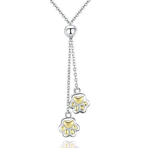 rlingsilber, niedliches Haustier-Haustierarmband, niedlicher Goldanhänger aus galvanisiertem Gold ()