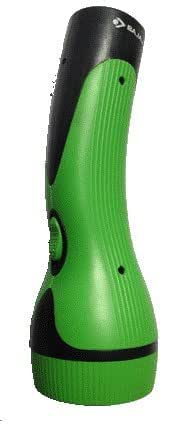 Bajaj Smartglow Curve 6-LED Rechargeable Torch (Green and Black)