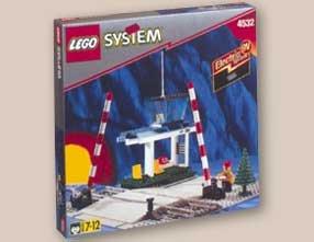 LEGO System Eisenbahn 4532 Bahnübergang (Lego Bahnübergang)