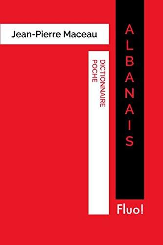 Dictionnaire Poche Albanais