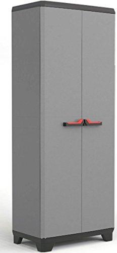 Kis stilo armadio in resina basic tuttopiani per esterno 68 x 39 x 173 h