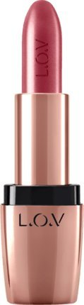 l.o.v de maquillaje Labios lipa ffair Color & Care Lipstick Metallic nº 603 Bronce Sculpting 3 G