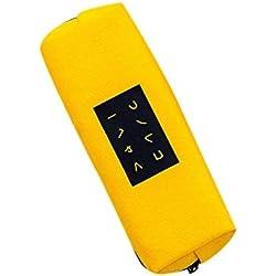 Bolso minimalista de maquillaje de la caja de la pluma de la lona de la caja de lápiz del estudiante