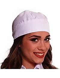 Fratelliditalia Bandana copritesta Cuffia Cameriere Cuoco Chef Cucina  ristorazione Cotone 51ba37975599