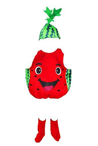 Kostüm Gemüse Und Obst - Black Temptation Halloween-Kinderkleidung Obst und Gemüse Kostüme, Wassermelone